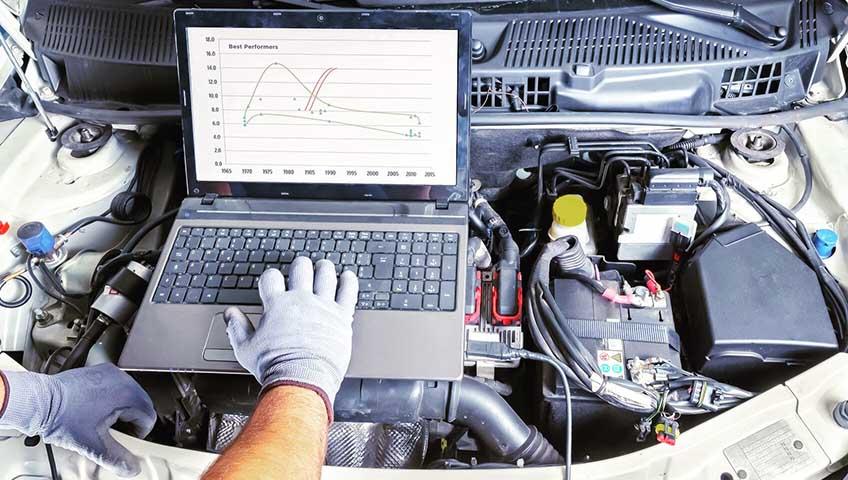 Компьютерная диагностика двигателя ниссан